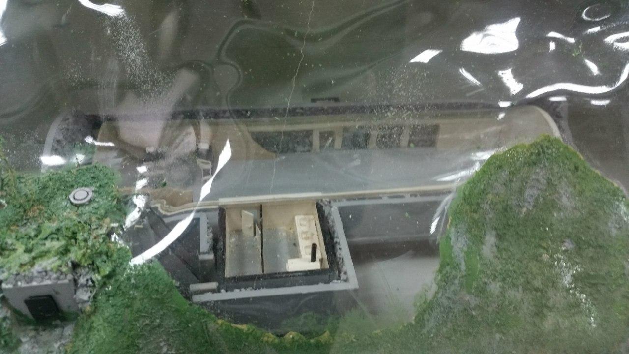 Макет казармы