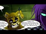 СПРИНГТРАП ВСПОМИНАЕТ - Five Nights At Freddys 3 КОМИКС #5