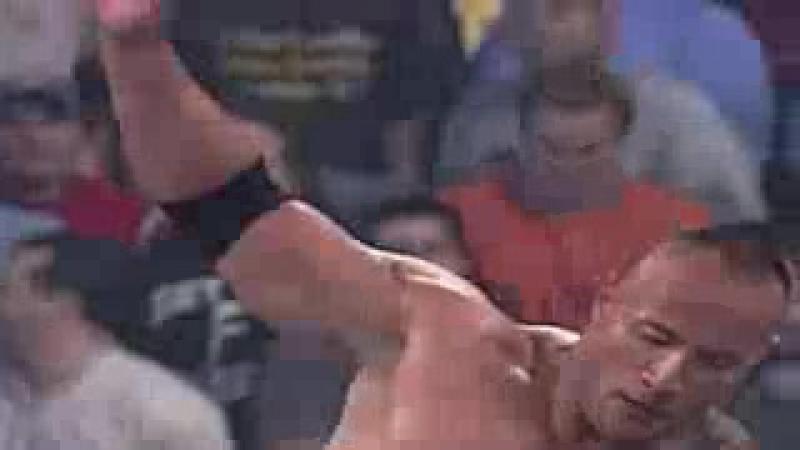 Goldberg vs The Rock Full Match WWE Backlash 2003