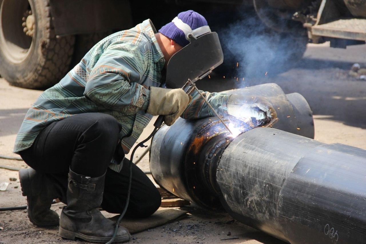 Участок теплотрассы дома отдыха «Куркино» в СЗАО капитально отремонтируют