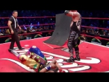 Psycho Clown vs. Pagano Mask vs. Hair Match