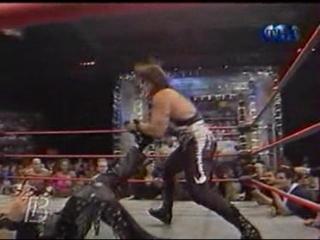Nitro 10-16-00 Kevin Nash vs Sting (Lumberjack match)