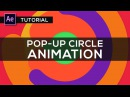 After Effects Tutorial : Pop Up Circles Animation for Intros