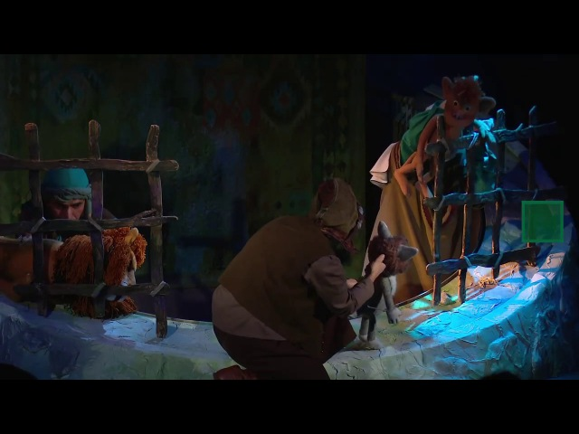 Татар дәүләт театрында яхшы бүреләр һәм яман аучы турында Ркаил Зәйдулла әкияте