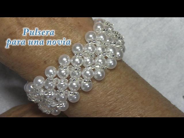 DIY - Pulsera de novia DIY - Bridal Bracelet