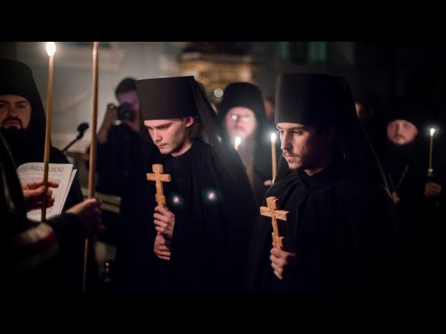 Монашеский постриг в СПбДА / The Monastic Tonsures in SPbTA