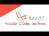Laravel 5.2 PHP Build a social network - Post Validation &amp Outputting Errors