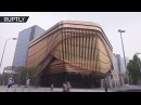 Now you see it: Shape-shifting Shanghai landmark uses innovative moving façade to alter appearance