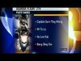 Asiana Pilots names from KTVU News