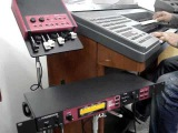 CCB  Hino 396 Senhor Reunidos Aqui  ao Orgão e Simulador Hammond
