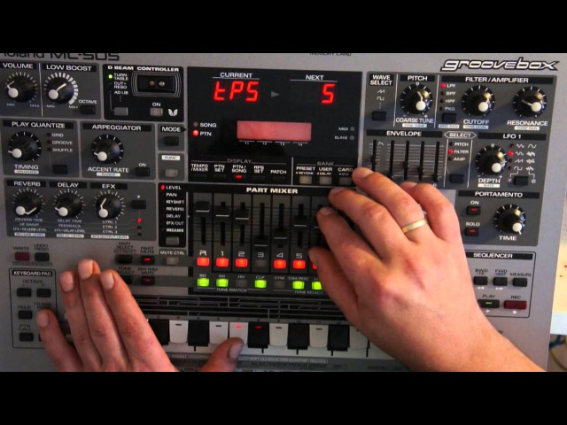 Roland MC-505 first Steps by moonbooter