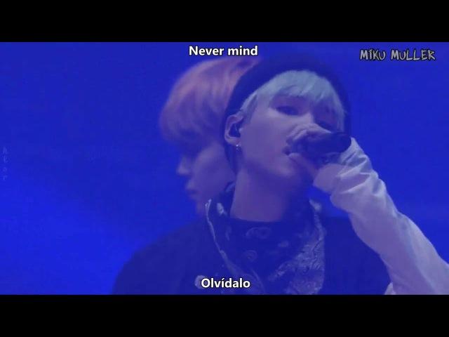 BTS - Never mind HYYH (Sub español - Roma - Hangul)