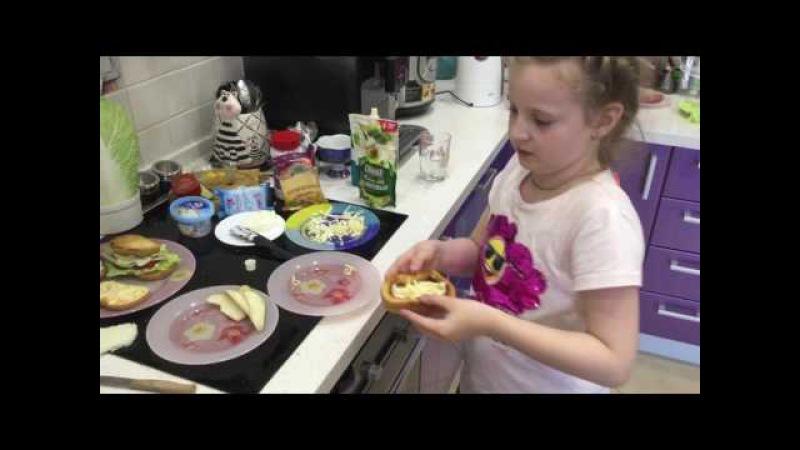 Необычные бутерброды для всей семьи )