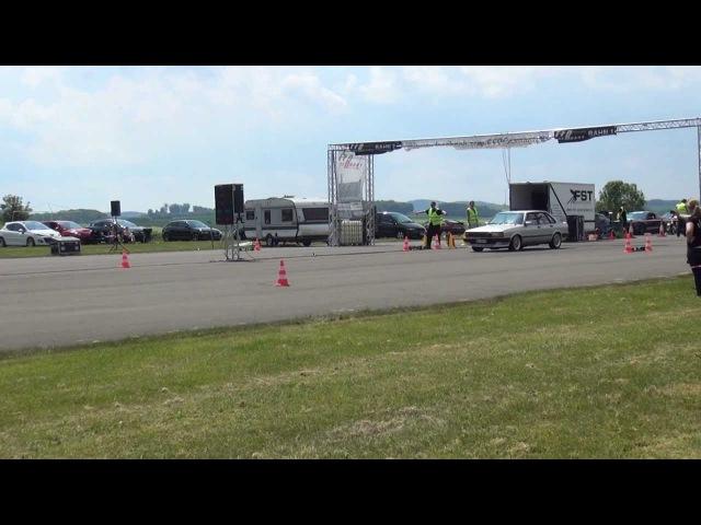 Audi 80 (Sleeper) vs. Nissan GTR @ EFR Meschede