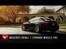 2015 Maserati Ghibli   Ferrada FR2 Machine Silver / Chrome Lip