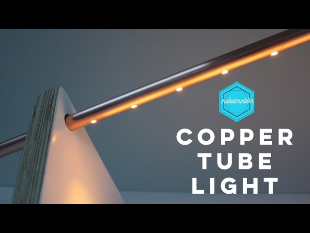 Copper Tube Light / Make It Modern Project5