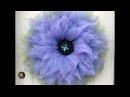 Large Flower Tutorial by A Noble Touch