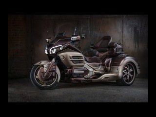 Honda Gold Wing GL-1800 trike Crazy Pimped up. Sound system, RGB SPI LED, custom paint, DRL