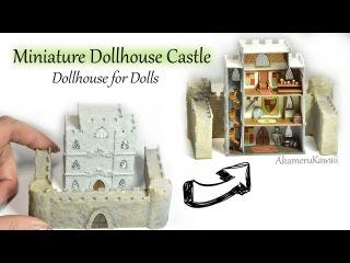 Miniature Dollhouse Castle - 1:144 scale craft tutorial