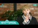 [TV 'Heyo'] 160921 NU'EST's Private Life (Minhyun - 꼭 어제 (Yesterday))