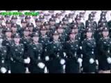 Марш китайских девушек солдат_Шикарно=