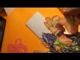 DIY: МК открытка на 8 марта своими руками / Скрапбукинг / Скрап без затрат! // CrazyCreative