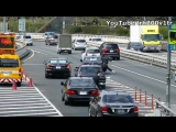 Japanese Prime minister Motorcade