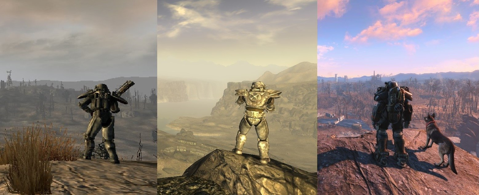 Эволюция серии Fallout