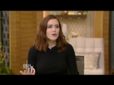 Megan Boone Interview - Live with Kelly (Jan 3, 2017)