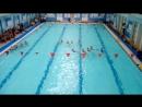 Синхронное плавание.Выступление на городских соревнованиях.