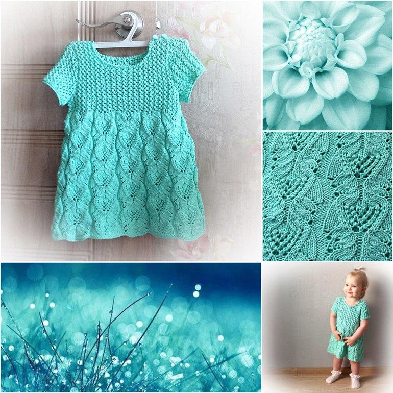 可爱的女孩连衣裙(1至2岁) - maomao - 我随心动