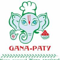 Логотип GANA-PATY вегетарианское кафе Самара