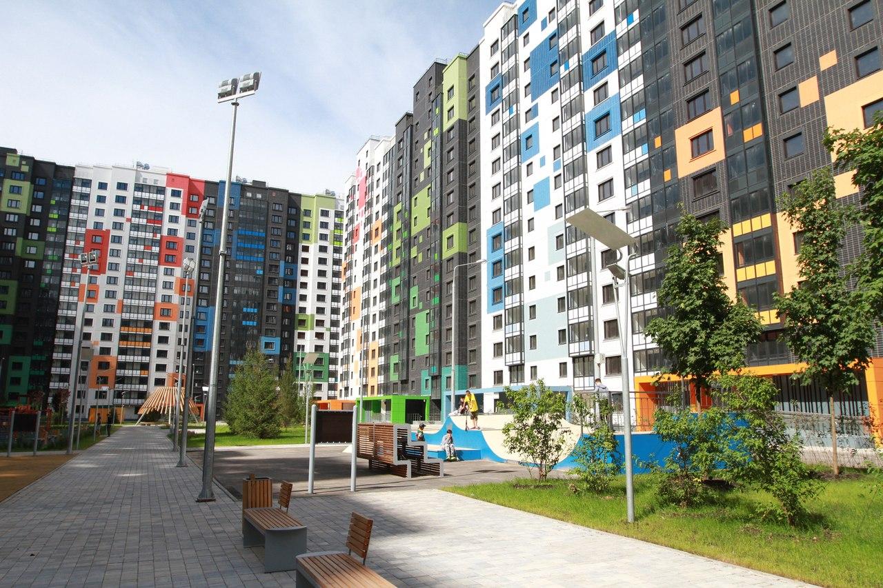 Завершилось строительство 1-й очереди жилых домов на Дмитровском шоссе