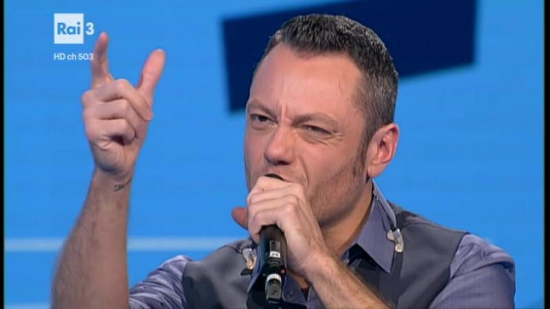 Che tempo che fa 11/12/2016 - Tiziano Ferro - Intervista, Potremmo ritornare, Solo è solo una parola
