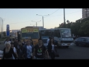 2017 05 29 лёгкая авария с маршруткой на Крыжановке