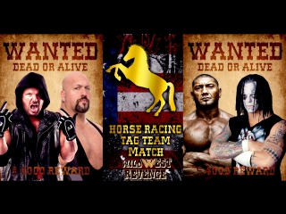 WWR 2 Part Of Horse Racing Tag Team Match Bullet Club(c) Vs n.W.o For WOW Tag Team Championship