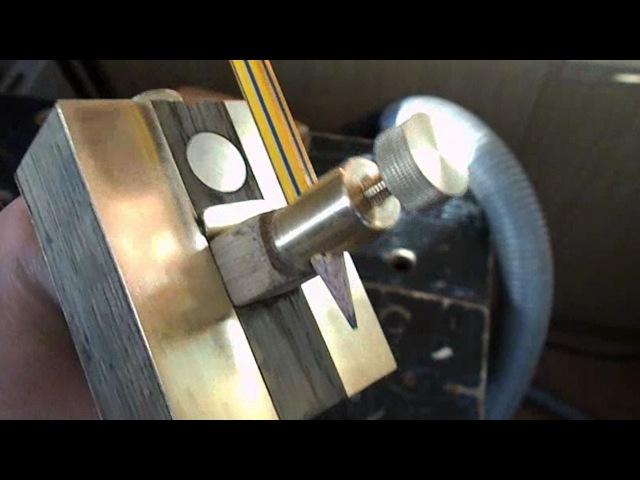 Самодельный разметочный рейсмус и токарный станок по металлу