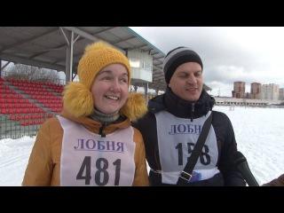 2017 02 17 - Фестиваль любителей скандинавской ходьбы (Лобня)
