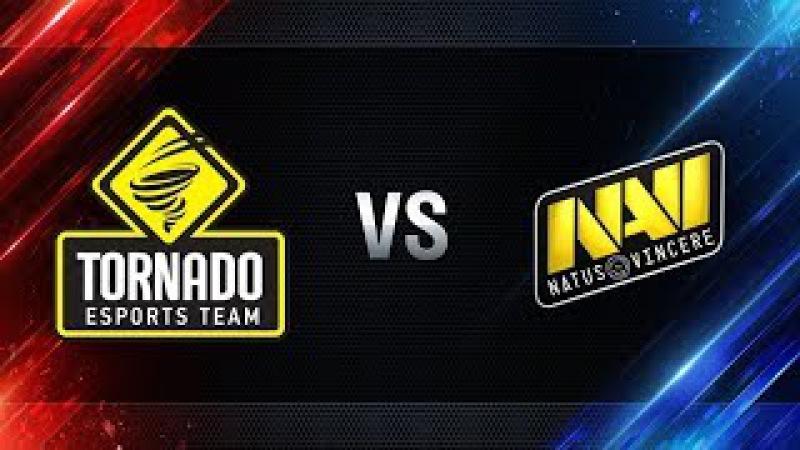 Гранд-финал 2017, четвертьфиналы, NaVi vs Tornado Energy