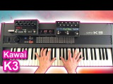 KAWAI K3 synthesizer - Ambient space music