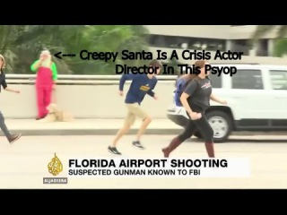 Creepy CIA Santa - Crisis Actor's Director Hidden In Plain Sight!