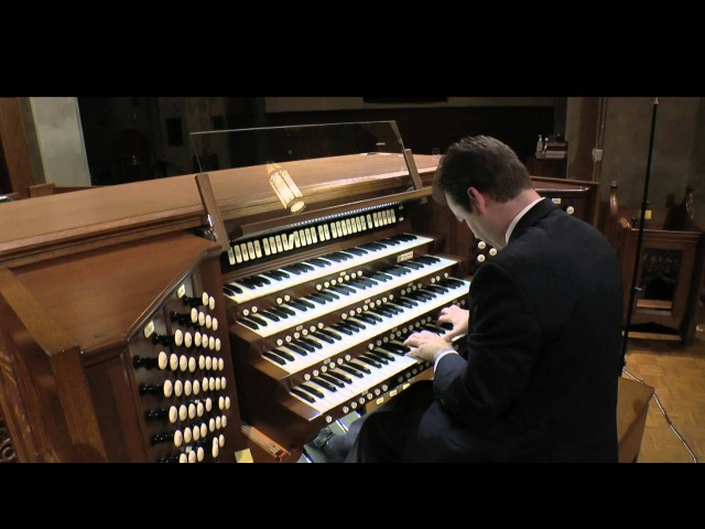 Leo Sowerby Pageant on the Quimby Pipe Organ played by Ken Cowan
