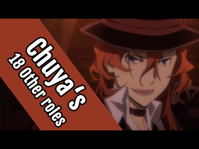 18 Anime Characters That Share The Same Voice Actor as Bungou Stray Dogss Chuuya Nakahara