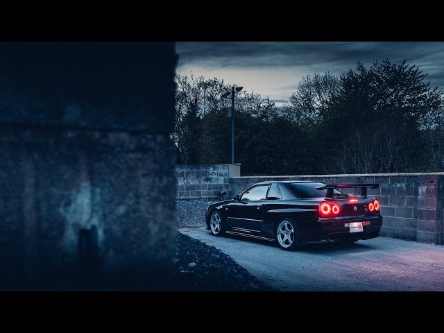 The Midnight Runner - Nissan Skyline R34 GTR M-spec