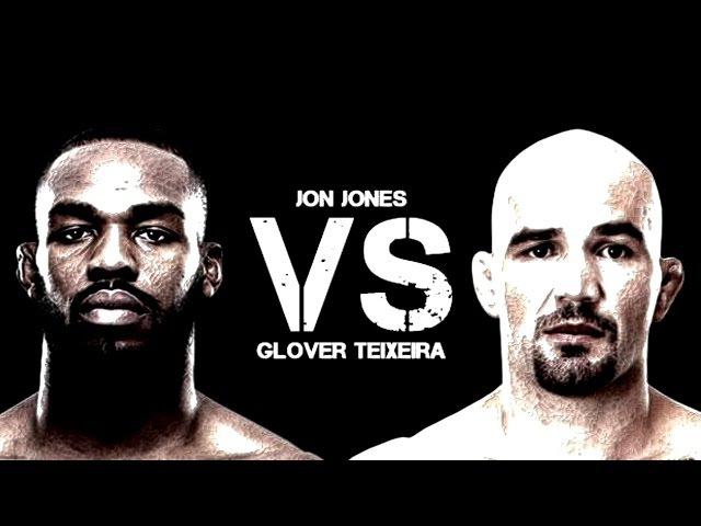 Jon Jones vs Glover Teixeira FIGHT HIGHLIGHTS