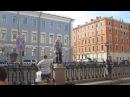 Достопримечательность Питера - дядя Миша...Sankt-Peterburg Russia