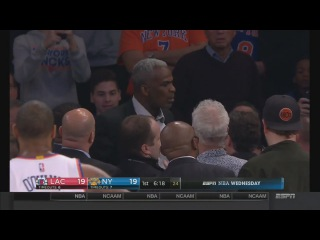 Charles Oakley Fights With a Fan During Clippers-Knicks Game | February 8, 2017 | 2016-17 NBA Season