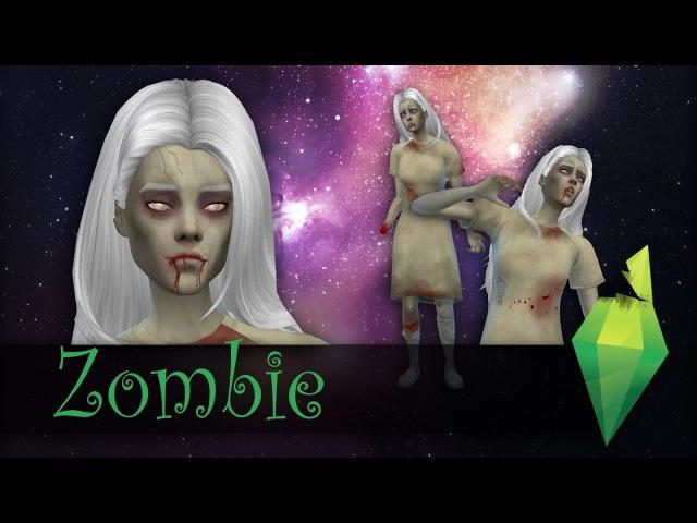 ЗОМБЯТИНА 5.1 [The Sims 4 CAS Странные и жуткие]