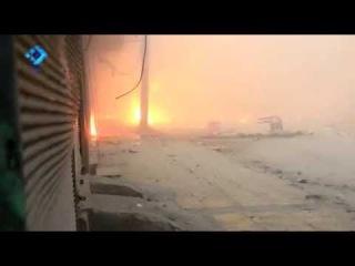 وكالة ثقة || الحرائق التي نشبت في حي الشعار ن&#157