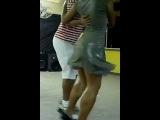 Dancer Woman with ENORMOUS Calves